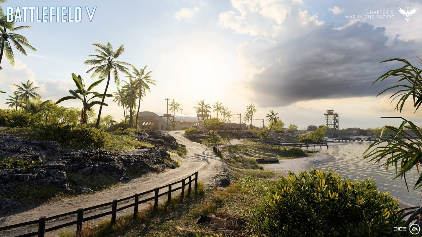 Battlefield 5's classic Wake Island map is available now