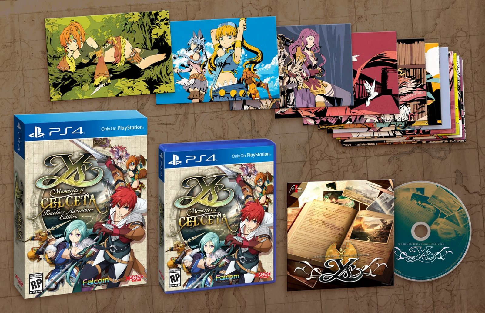 Ys: Memories of Celceta PS4 Remaster Heads West in Spring 2020