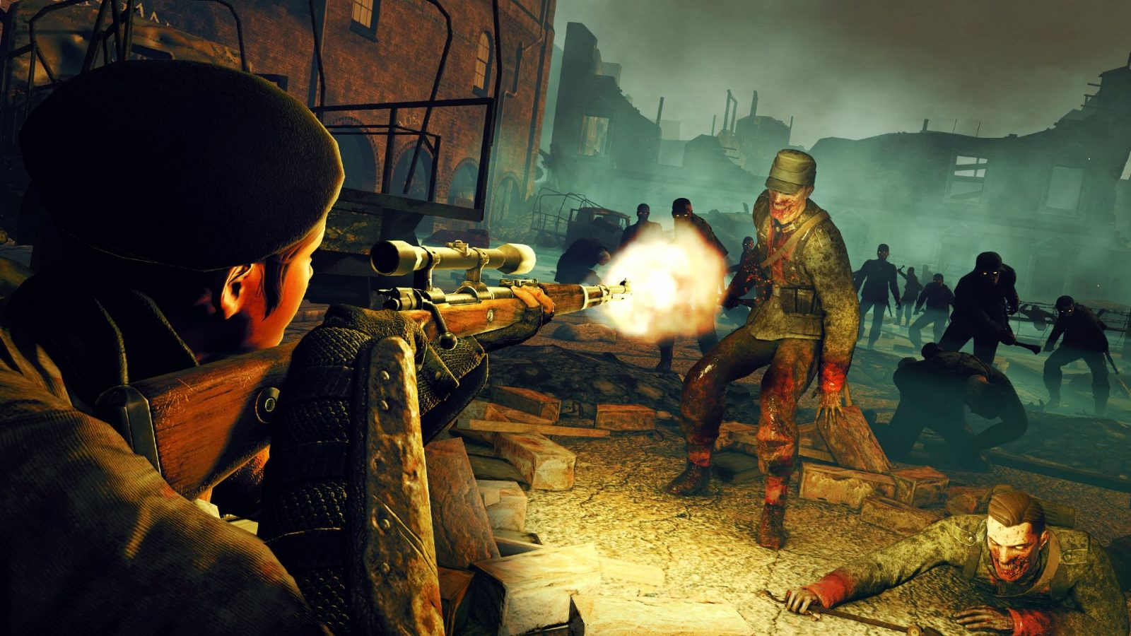 Zombie Army Trilogy Gets a Switch Port in Early 2020