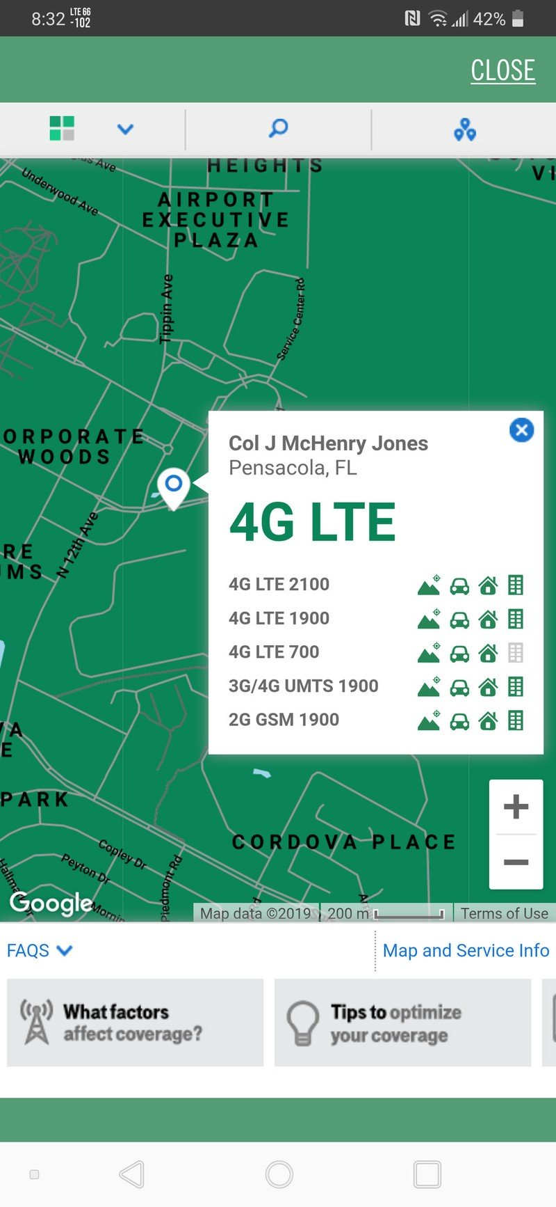 Mint Mobile coverage Android app