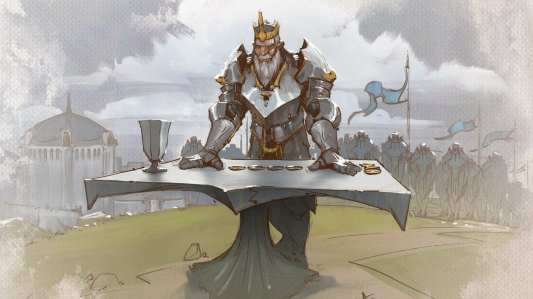 Tellstones is a 2-player League of Legends Sport for Tabletop