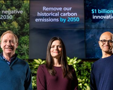 Microsoft to retroactively counteract its carbon footprint since 1975