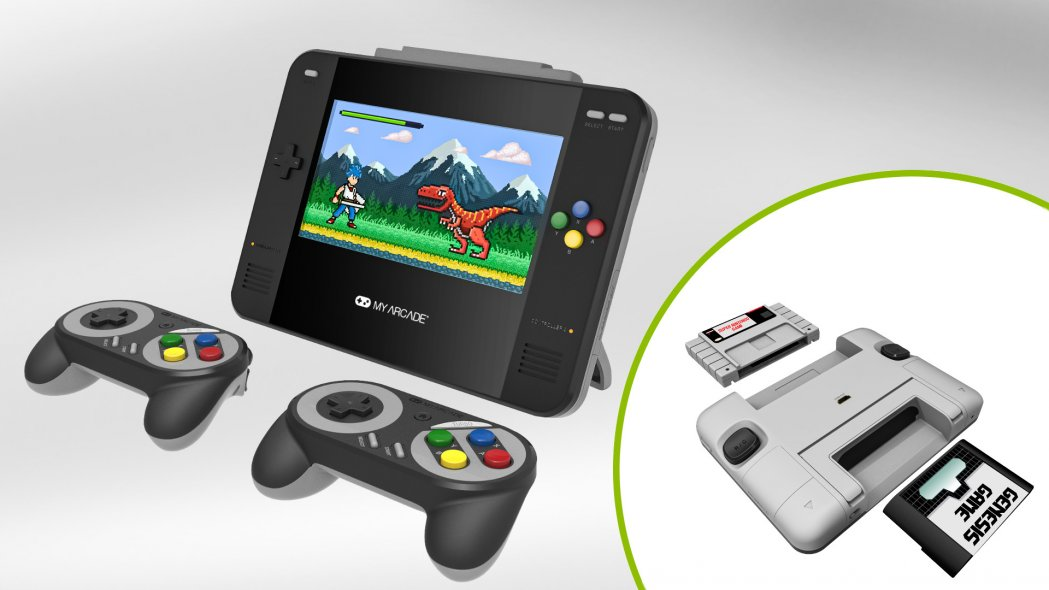 My Arcade Tremendous Retro Champ is Two 16-Bit Consoles in One