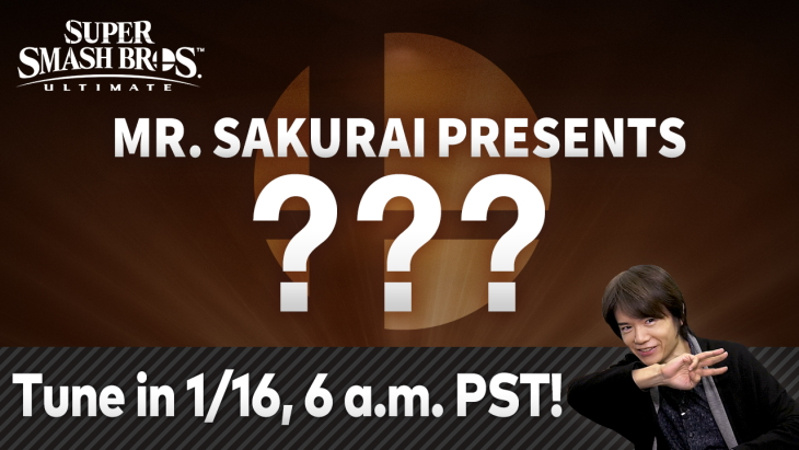 Closing Tremendous Smash Bros. Final Fighter Go #1 Character to be Revealed January 16