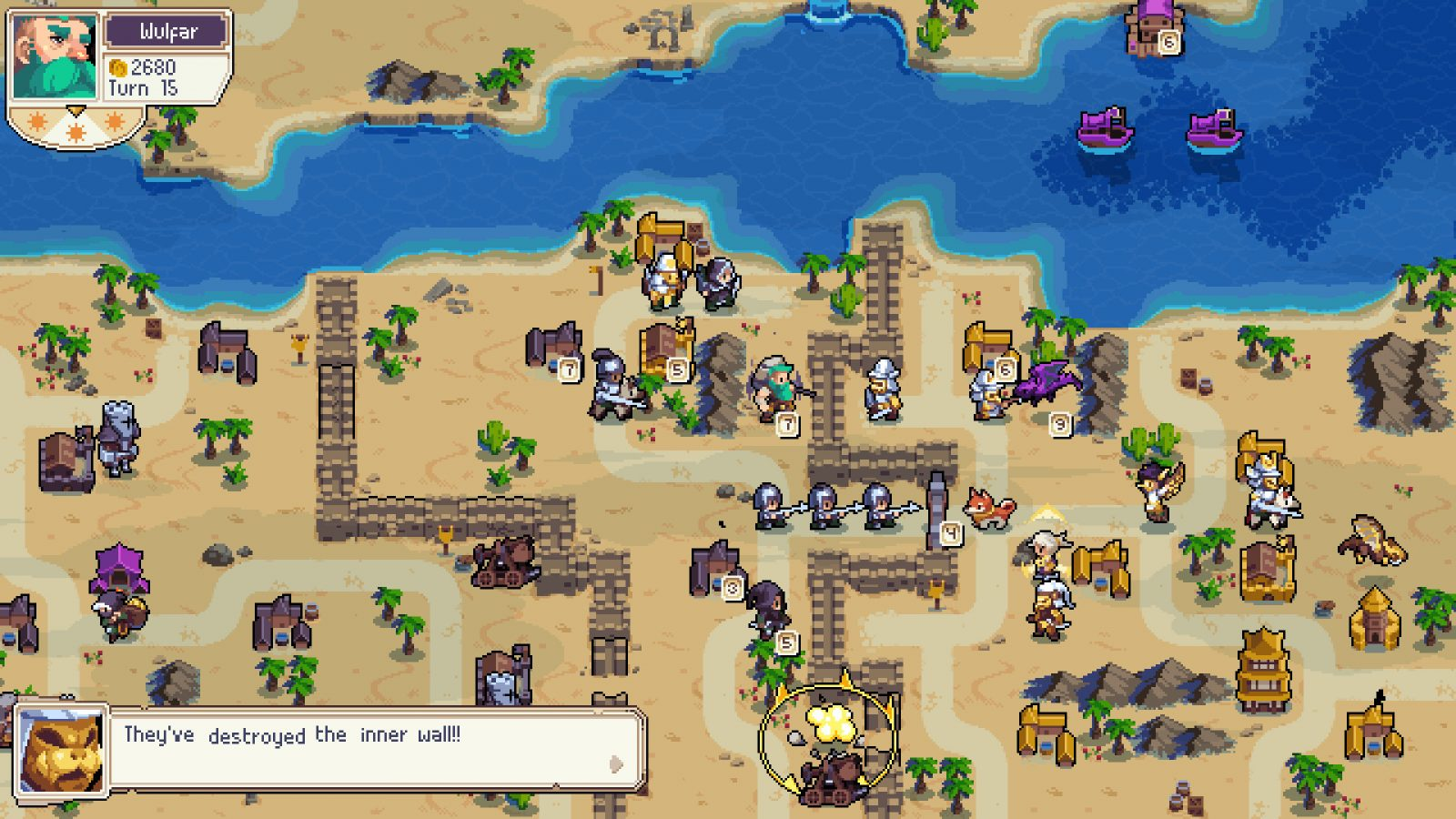 Wargroove: Double Bother Free DLC Launches February sixth