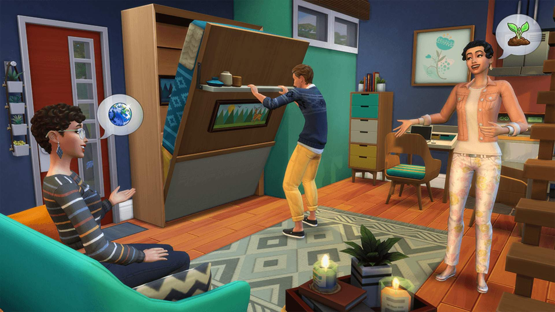An Upcoming Sims Four Replace Lets You Construct Tiny Homes For Your Sims to Snuggle In