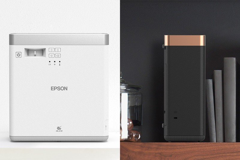 Epson unveils EF-100 Android TV-powered wi-fi projectors at CES 2020