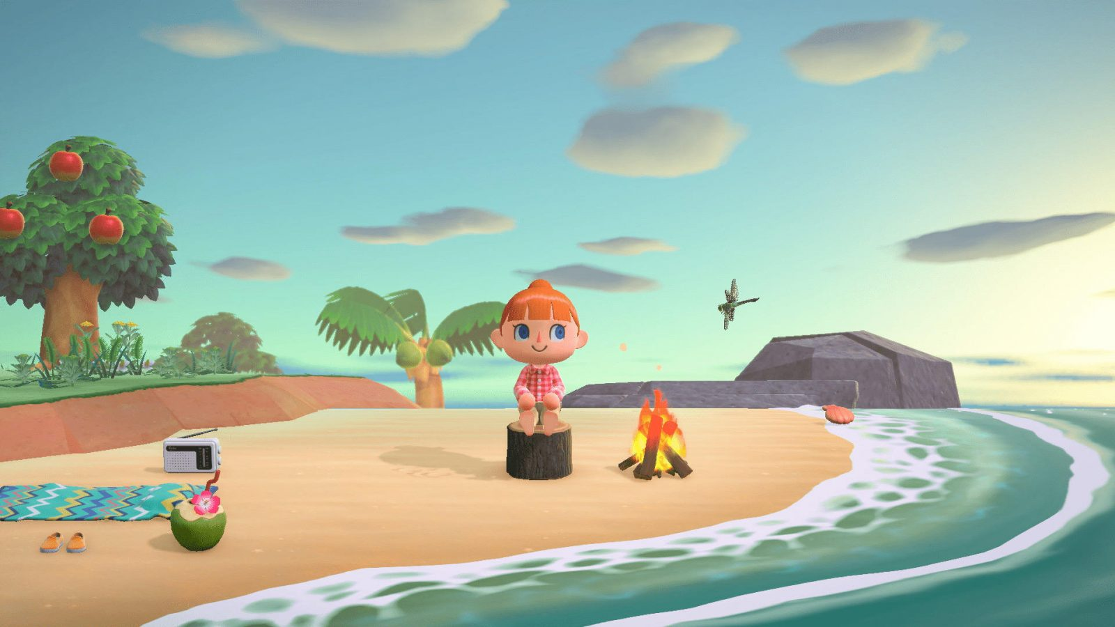Isabelle is Excited to Ditch Civilization in Latest Animal Crossing New Horizons Trailer