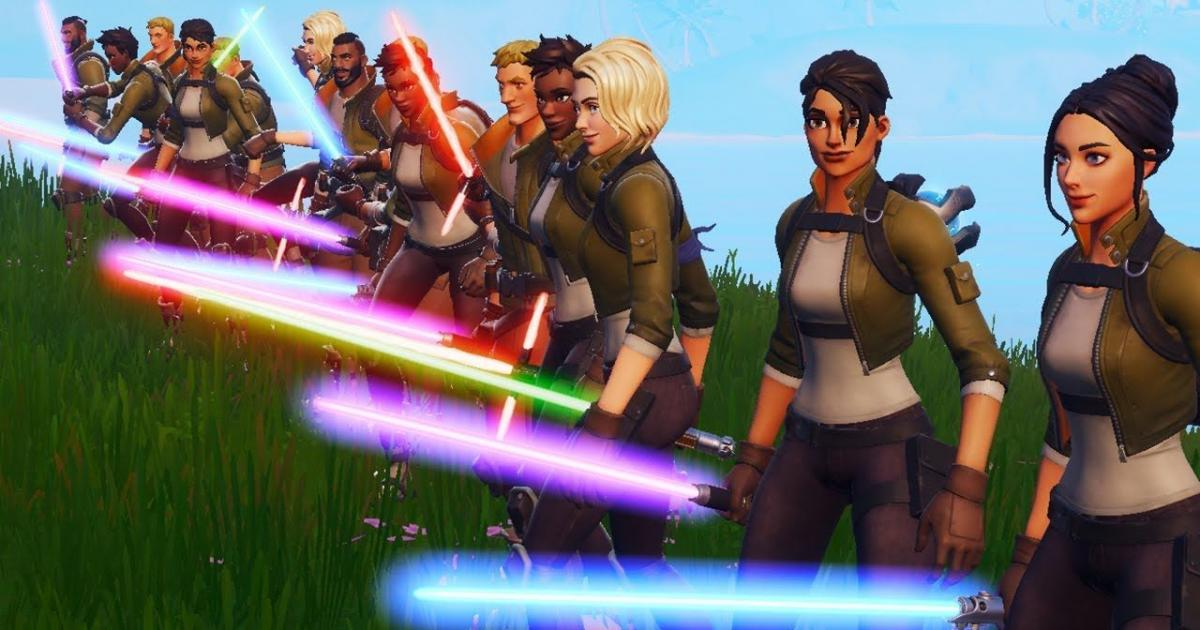 Lightsabers quickly to be faraway from 'Fortnite Battle Royale'
