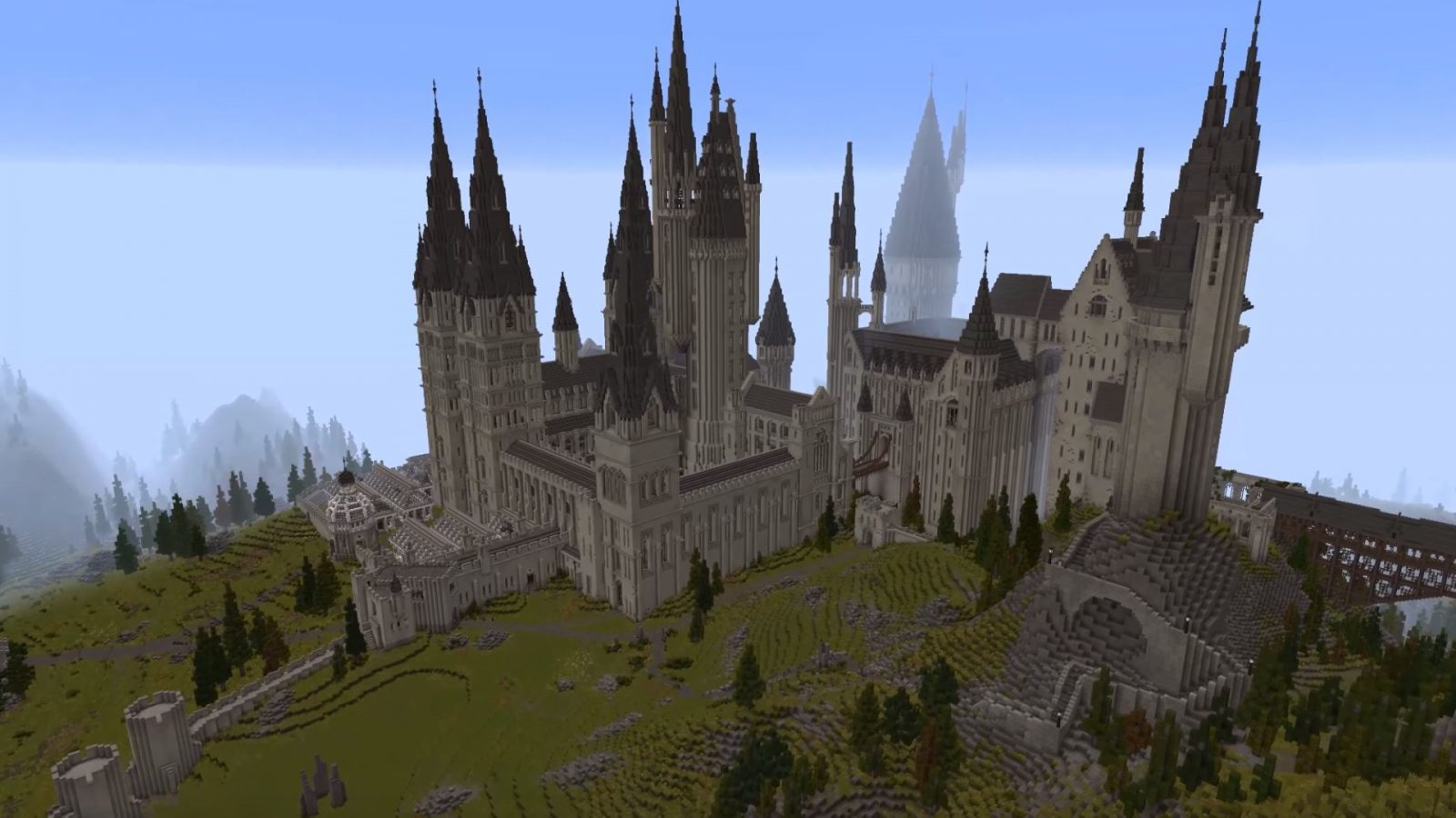 Play a Harry Potter RPG with this huge Minecraft map