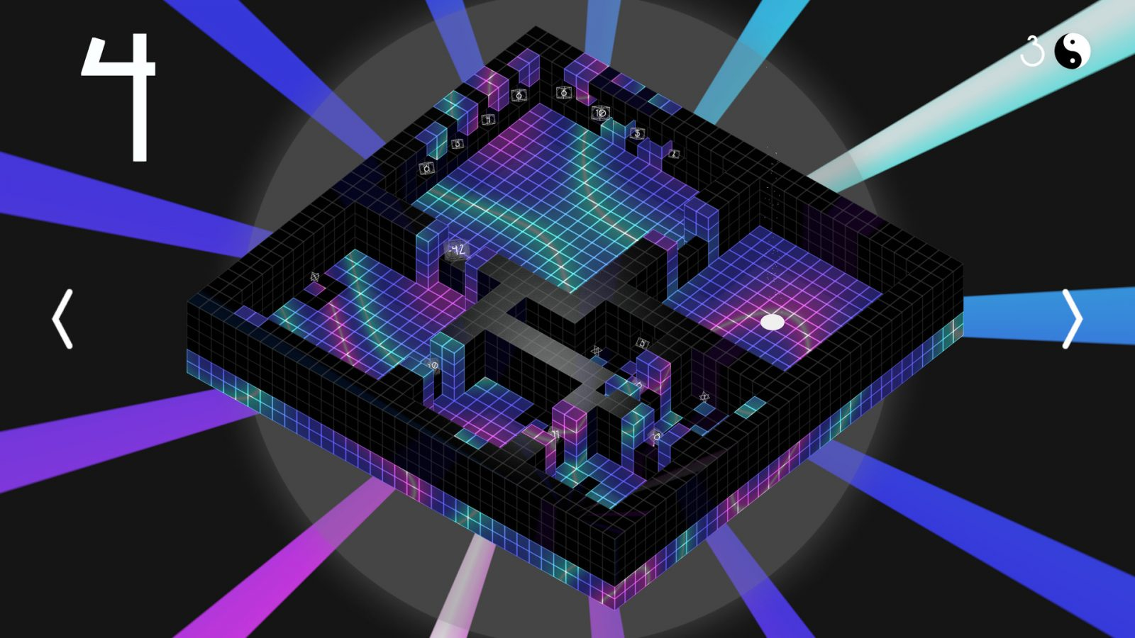 New video games: Obversion is an summary puzzle sport, like Portal meets Marble Insanity