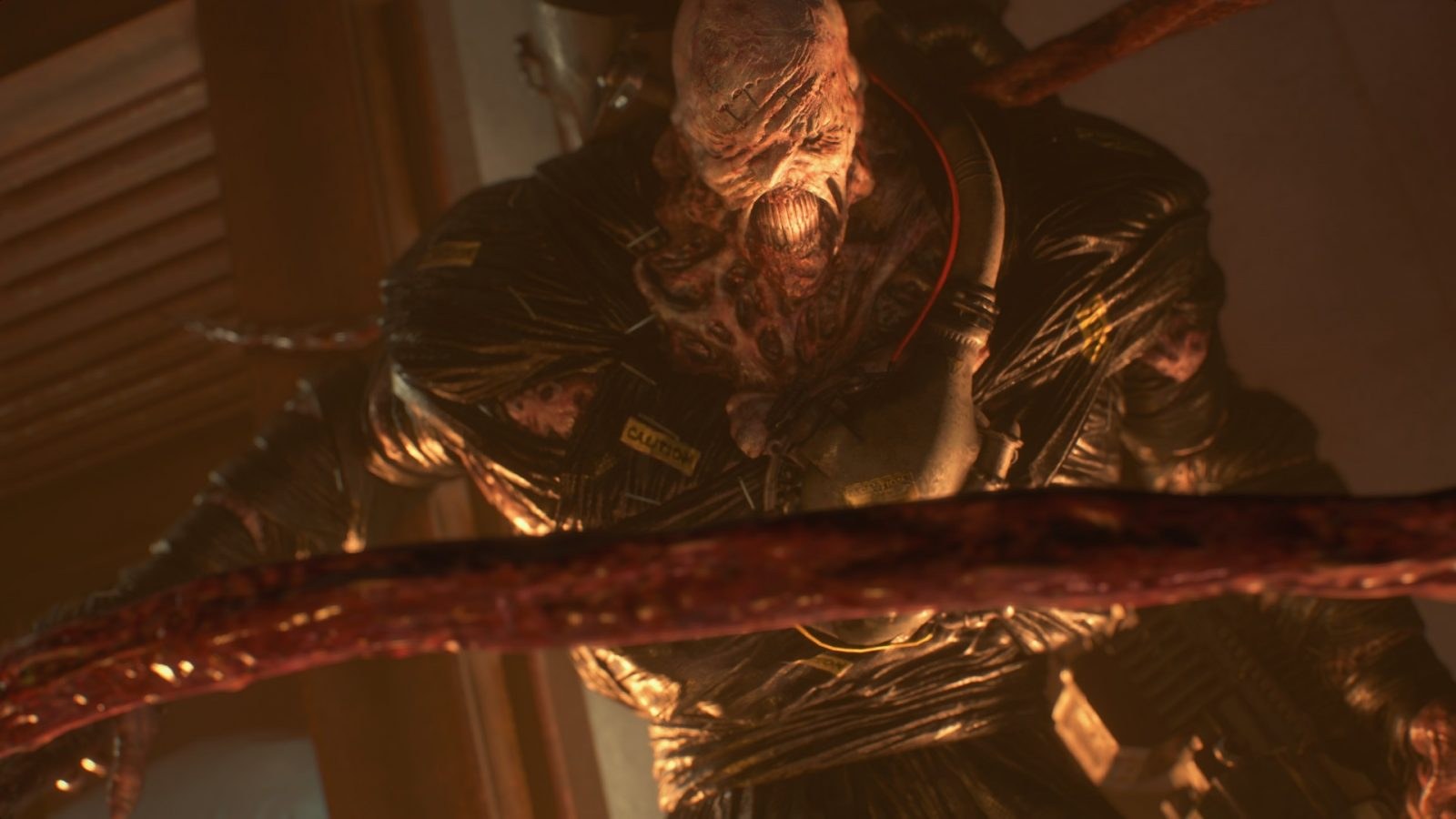 """New Resident Evil Three remake trailer exhibits off Nemesis' """"slimy appendages"""""""