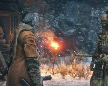 There is a Comedian For Sekiro's Hanbei the Timeless