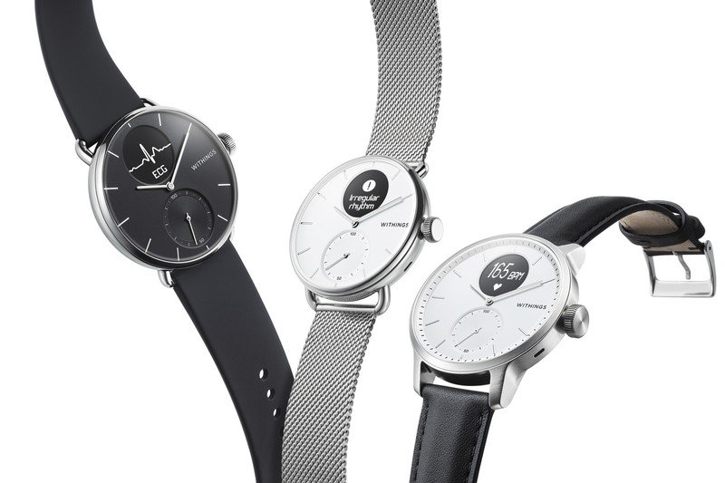 Withings broadcasts new ScanWatch with AFib and sleep apnea detection