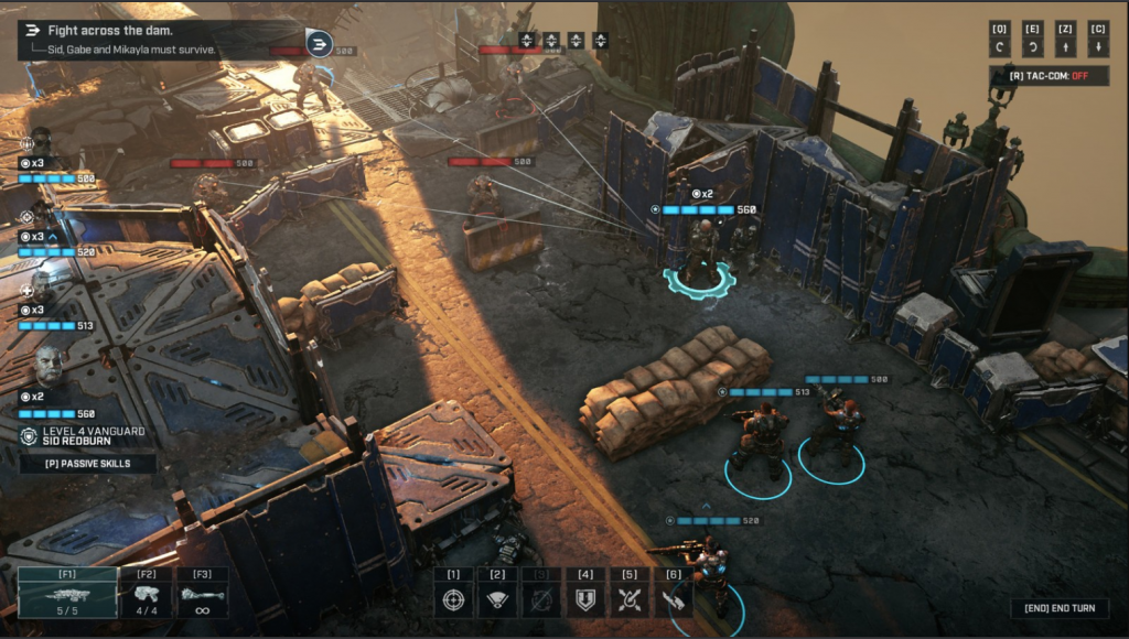 Gears Tactics guide: Best class builds, gear, weapon mods, and combat tips
