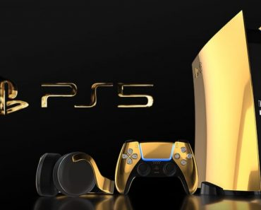 This Customized Gold PS5 Will Drain Your Financial institution Account