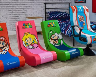 X Rocker Companions With Nintendo For Official Gaming Chairs