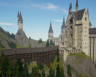 Minecraft Hogwarts: how to play this cool Minecraft Harry Potter RPG map
