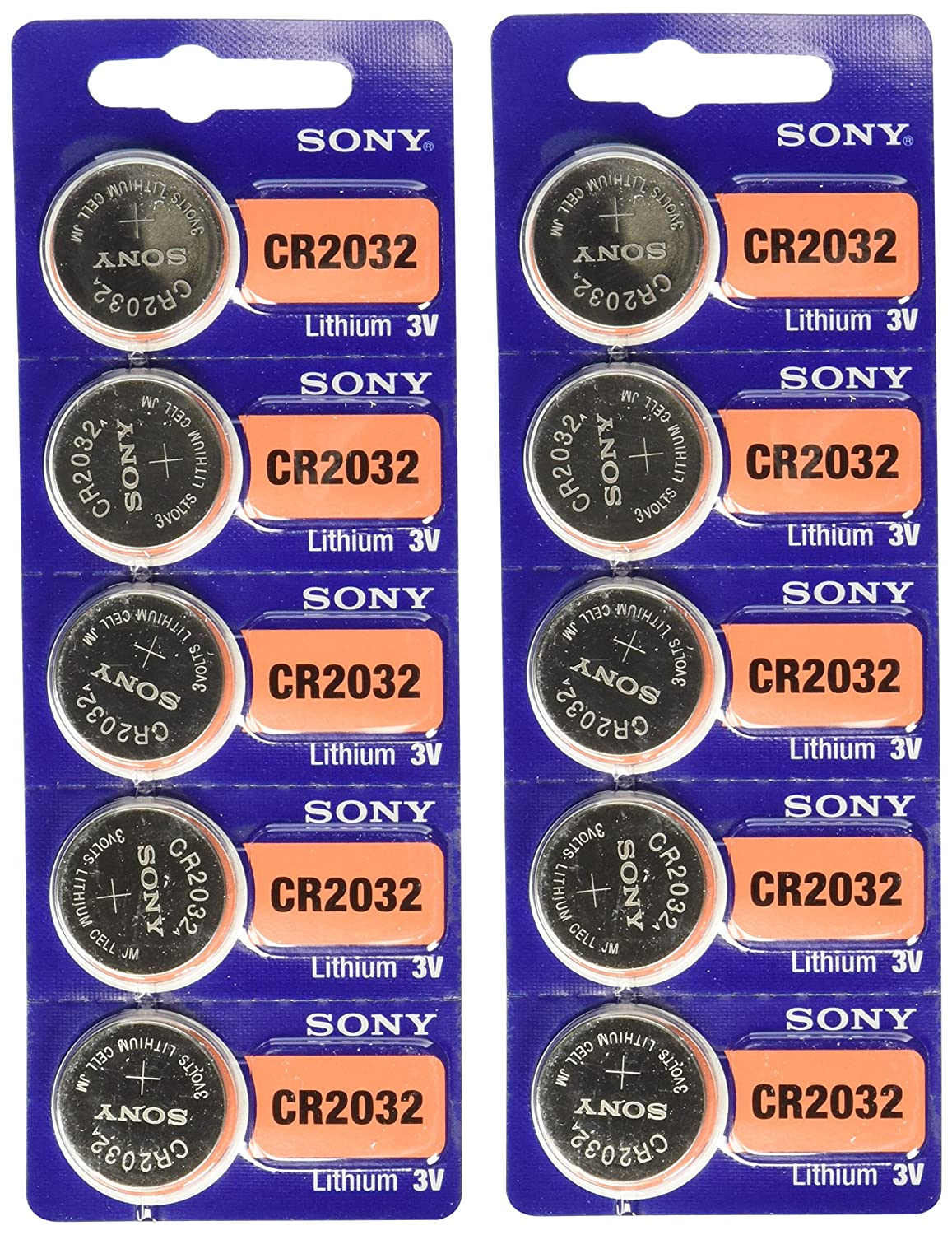 Sony Cr2032 Batteries