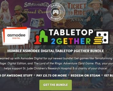 Humble Asmodee Digital Tabletop 2gether Bundle Out Now