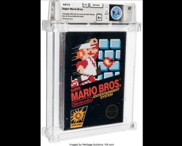 Super Mario Bros. Sells for Over 600k At Auction